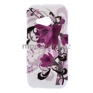 Gelový kryt na HTC One mini 2 - lotusový květ - 1