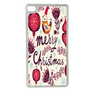 Vánoční edice gelových obalů na Huawei Ascend P8 - Merry Christmas - 1