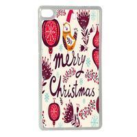 Vánoční edice gelových obalů na Huawei Ascend P8 - Merry Christmas - 1/2