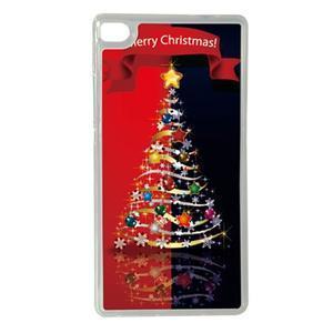 Vánoční edice gelových obalů na Huawei Ascend P8 - stromeček - 1