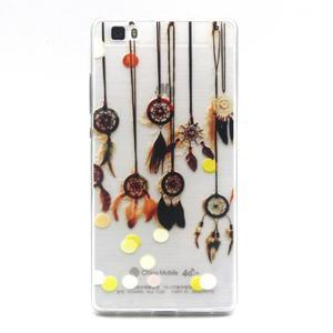 Transparentní gelový obal na Huawei Ascend P8 Lite - dream - 1