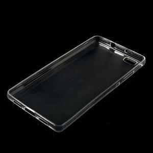 Transparentní ultra tenký slim obal na Huawei Ascend P8 Lite - 1