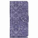 Pouzdro na mobil Huawei P8 Lite - textury květin - 1/7