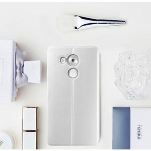 Vintage PU kožené pouzdro na mobil Huawei Mate 8 - bílé - 1