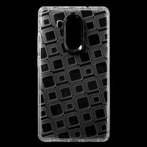 Square gelový obal na Huawei Mate 8 - transparentní - 1