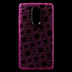 Square gelový obal na Huawei Mate 8 - rose - 1