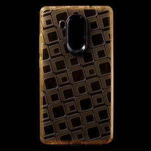 Square gelový obal na Huawei Mate 8 - zlatý - 1