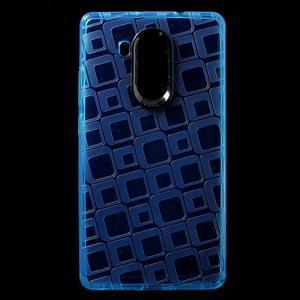 Square gelový obal na Huawei Mate 8 - modrý - 1