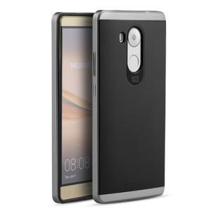 Odolný obal 2v1 s výstuhami na Huawei Mate 8 - šedý - 1
