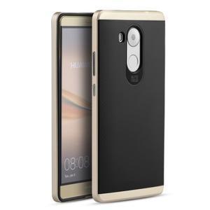 Odolný obal 2v1 s výstuhami na Huawei Mate 8 - zlatý - 1