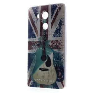 Softy gelový obal na mobil Huawei Mate 8 - UK vlajka - 1