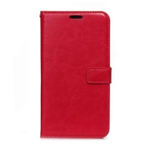 Peněženkové pouzdro na Huawei Mate 8 - červené - 1