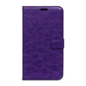 Peněženkové pouzdro na Huawei Mate 8 - fialové - 1