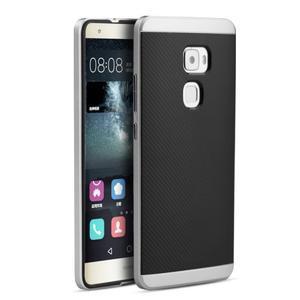 Odolný hybridní obal 2v1 na Huawei Mate S - stříbrný - 1