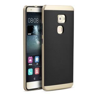 Odolný hybridní obal 2v1 na Huawei Mate S - zlatý - 1