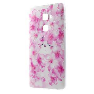 Softy gelový obal na mobil Huawei Mate S - kvetoucí švestka - 1