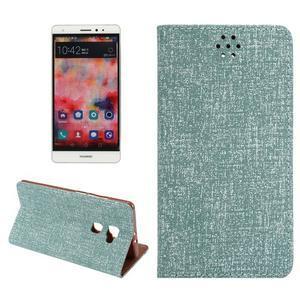 Style knížkové pouzdro na mobil Huawei Mate S - zelené - 1