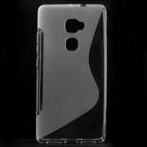 S-line gelový obal na mobil Huawei Mate S - transparentní - 1