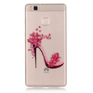Průhledný gelový obal na mobil Huawei P9 Lite - pekelný střevíc - 1