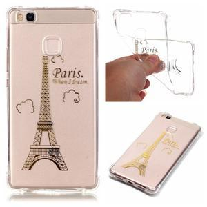 Lacqe gelový obal na Huawei P9 Lite - Eiffelova věž - 1