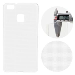 Super slim 0.5 mm gelový obal na Huawei P9 Lite - transparentní - 1