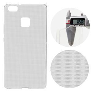 Super slim 0.5 mm gelový obal na Huawei P9 Lite - šedý - 1