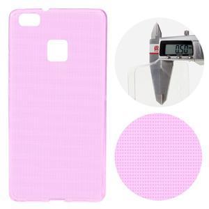 Super slim 0.5 mm gelový obal na Huawei P9 Lite - rose - 1