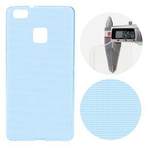 Super slim 0.5 mm gelový obal na Huawei P9 Lite - modrý - 1