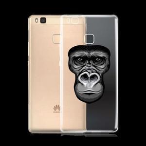 Animal gelový obal na telefon Huawei P9 Lite - gorila - 1