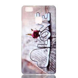 Shelly plastový obal na mobil Huawei P9 Lite - love - 1