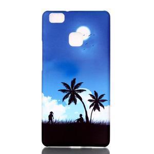 Shelly plastový obal na mobil Huawei P9 Lite - palmy - 1
