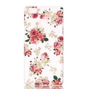Shelly plastový obal na mobil Huawei P9 Lite - květiny - 1