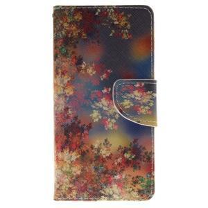 Lethy knížkové pouzdro na telefon Huawei P9 Lite - podzimní zátiší - 1