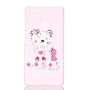 Shelly plastový obal na mobil Huawei P9 Lite - medvídek - 1