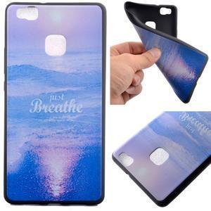 Gelový obal na telefon Huawei P9 Lite - moře - 1