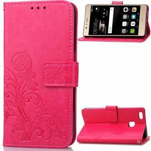 Cloverleaf peněženkové pouzdro na Huawei P9 Lite - rose - 1