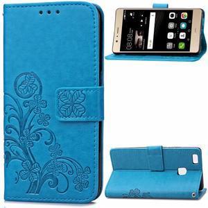 Cloverleaf peněženkové pouzdro na Huawei P9 Lite - modré - 1