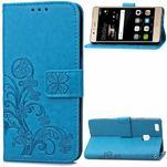 Cloverleaf peněženkové pouzdro na Huawei P9 Lite - modré - 1/7