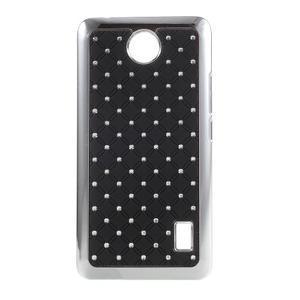 Drahokamový kryt na Huawei Y635 - černý - 1