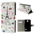 Peněženkové pouzdro Huawei Y635 - Eiffelova věž - 1/7