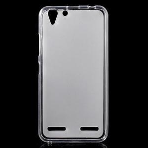 Matný gelový obal na mobil Lenovo Vibe K5 / K5 Plus - transparentní - 1