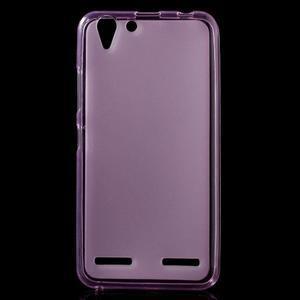 Matný gelový obal na mobil Lenovo Vibe K5 / K5 Plus - růžový - 1