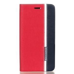 Klopové pouzdro na Lenovo Vibe K5 / K5 Plus - červené - 1