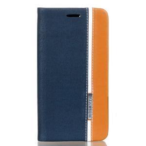 Klopové pouzdro na Lenovo Vibe K5 / K5 Plus - modré - 1