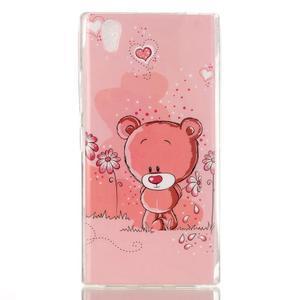 Softy gelový obal na mobil Lenovo P70 - medvídek - 1