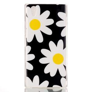 Softy gelový obal na mobil Lenovo P70 - sedmikrásky - 1