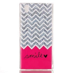 Softy gelový obal na mobil Lenovo P70 - smile - 1