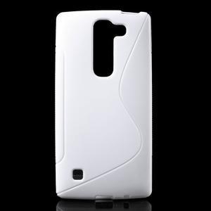 S-line gelový obal na LG Spirit 4G LTE - bílý - 1