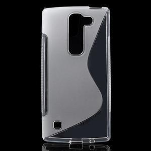 S-line gelový obal na LG Spirit 4G LTE - transparentní - 1