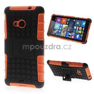 Vysoce odolný obal pro Microsoft Lumia 535 - oranžový - 1